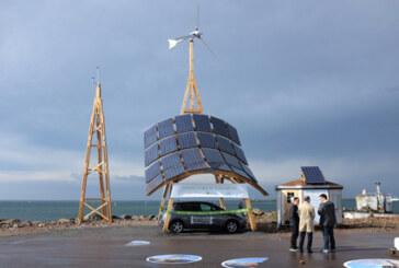 """Vindkraftspris till innovativ """"giraff"""""""