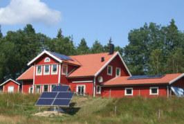 Villa Solkullen fångar energin