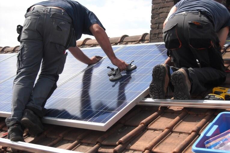 Populärt med solceller på taket