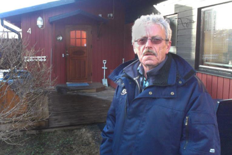Kent Jansson har sänkt elkostnaderna rejält i 70-talsvillan.