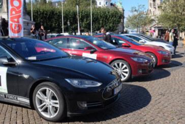 Snabb ökning av elbilar