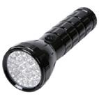 Ficklampa är en nödvändighet vid strömavbrott.