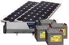 Solcellspaket inkl. fritidsbatteri
