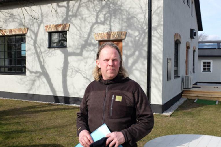 Husdrömmar med effektiv teknik. Lars Wides ombyggda garage rymmer en spännande teknikpark.