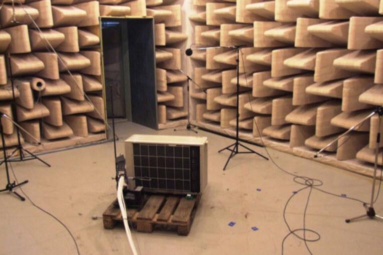 Ny metod kan minska buller från värmepumpar.