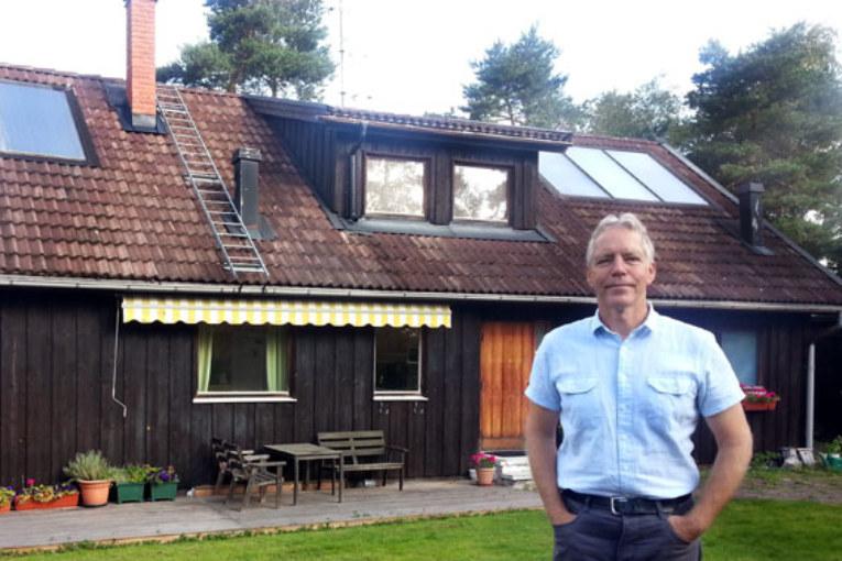 Anders Persson energisparar med begagnade prylar.