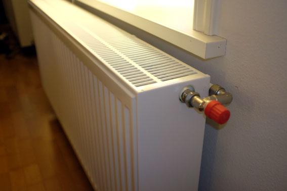 Nya trippelradiatorer bidrar till att värmepumpen arbetar mer energieffektivt.