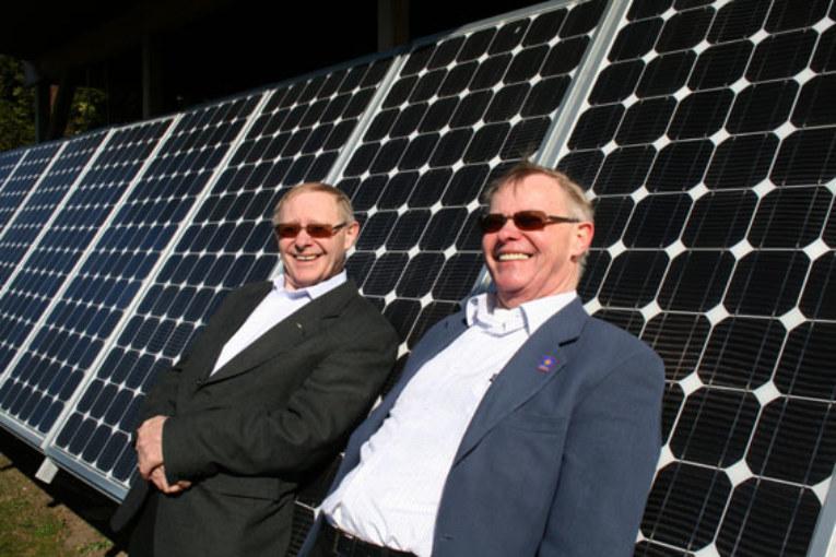 Husägare med solceller