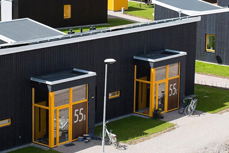 Byggprojekt. Solallén i Växjö