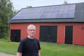 Skogsägare hämtar energi från solen