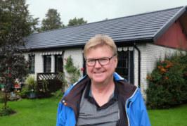Jörgen först i Sverige med solpannor